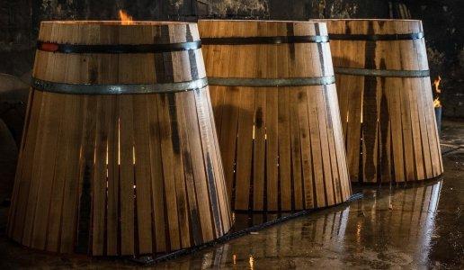 Produzione Barrique vino