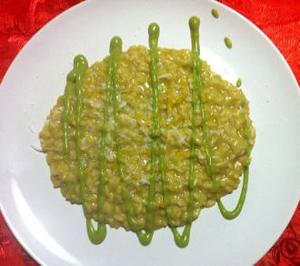 Risotto crema di broccoletti siciliani e ricotta salata