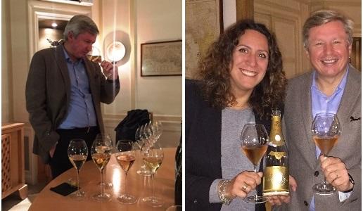 Roederer Champagne Chef de Cave e Chiara Giovoni di DoctorWine