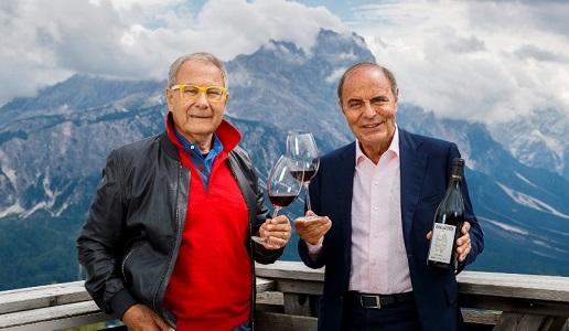 Sandro Boscaini e Bruno Vespa