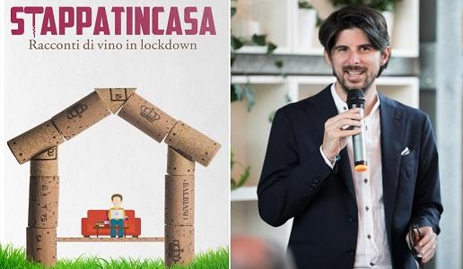 Stappati in casa libro copertina Luca Balbiano