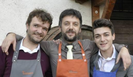 Tiziano, Davis e Ivano Cobelli