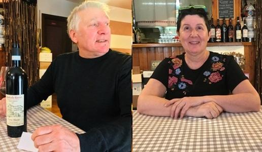 Trattoria Sottocastel Maria Vania Benico e Gabriele Quintarelli