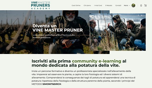 VINE MASTER PRUNERS Academy Simonit & Sirch