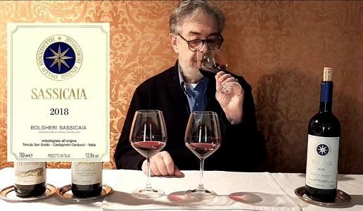 Video Sassicaia Daniele Cernilli DoctorWine