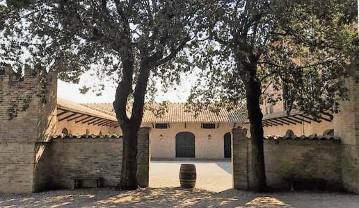Villa Forano Cantina Marche entrata