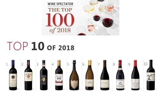 Wine Spectator Top 100 2018