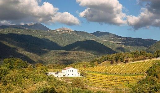 Cantina Le Macchie Rieti Panorama Monte Terminillo