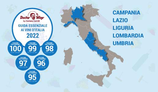 Faccini 2022 - Campania Lazio Lombardia Liguria Umbria