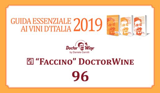 Faccino 96/100 DoctorWine 2019