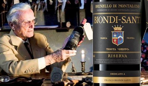 Franco Biondi Santi Brunello di Montalcino Riserva 2012 Greppo