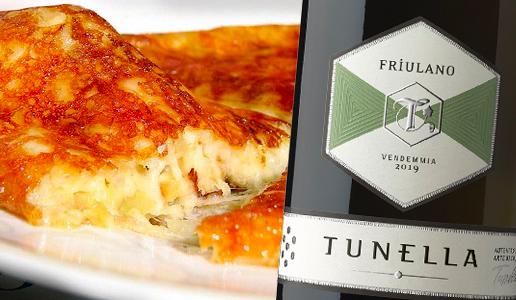 Frico con patate e Friulano 2019  Tunella
