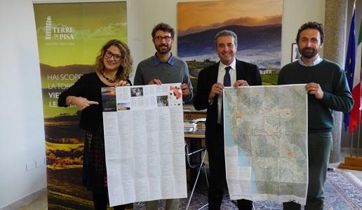 gruppo presentazione mappa terre di pisa