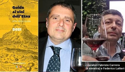 GGuida ai vini dell'Etna 2021 Cronache di Gusto - Curatori Fabrizio Carrera e Federico Latteri