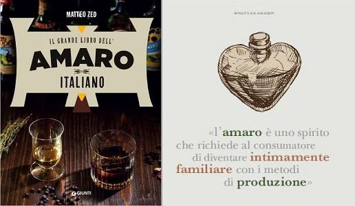 il-grande-libro-dell'amaro-italiano-matteo-zed-giunti-editore copertina e dettaglio interno
