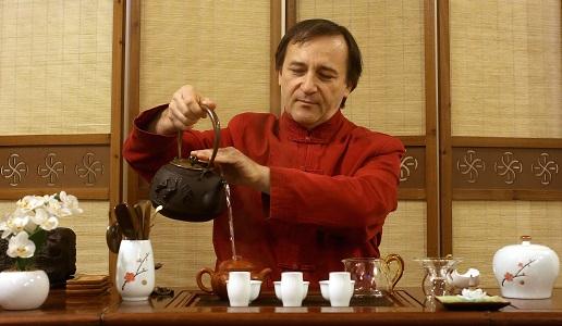 Marco Bertona, cerimonia del tè