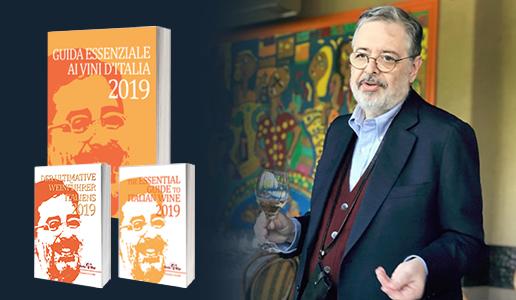 Quinta Edizione Guida Essenziale ai Vini d'Italia 2019 di Daniele Cernilli DoctorWine