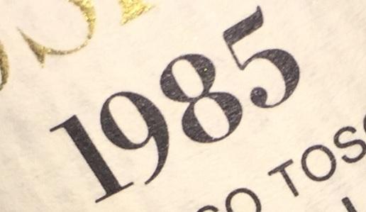 Annata 1985 Sassicaia