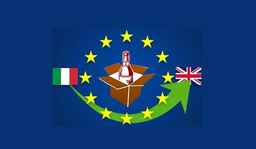 Effetto Brexit sull'Italia vitivinicola