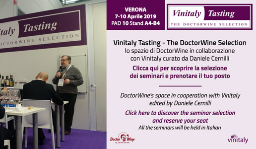 I seminari di Vinitaly Tasting The DoctorWine Selection 2019