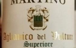 Martino Vini Aglianico del Vulture Superiore Riserva 2013