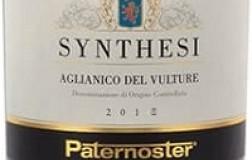 Paternoster Aglianico del Vulture Synthesi 2018