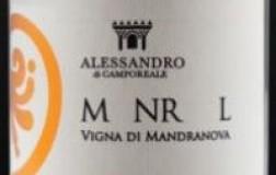 Alessandro di Camporeale Sicilia Syrah M NR L Vigna di Mandranova 2016