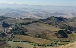 Alessandro di Camporeale panorama Belice