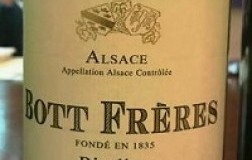 Alsace Riesling Reserve Personnelle Bott Freres