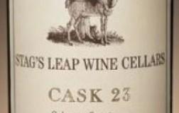Stag's Leap cask 23 cabernet sauvignon vino rosso napa valley