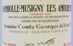 Chambolle Musigny 1er Cru Les Amoureuses 2006 Comte Georges de Vogüé