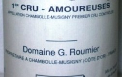 Chambolle Musigny 1er Cru Les Amoureuses 2007 Domaine G.Roumier