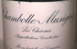 Chambolle Musigny 1er Cru Les Charmes 2001 Domaine Leroy