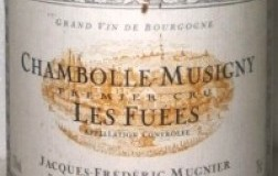 Chambolle Musigny 1er Cru Les Fuees 2008 Mugnier