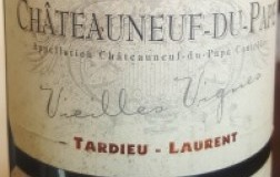 Tardieu Laurent Chateauneuf du pape Vieilles Vignes vino bianco rodano