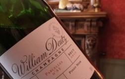 champagne deutz Hommage à William Deutz Parcelles d'Aÿ 2010 retroetichetta
