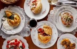Eufrosino Osteria Roma - Piatti vari sul tavolo