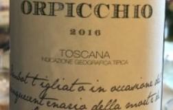 Fattoria Dianella Toscana Igt Orpicchio 2016