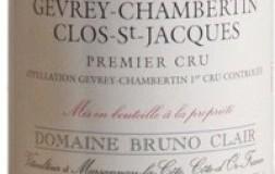 Gevrey Chambertin Clos Saint Jacques 1er Cru Bruno Clair