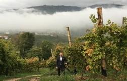 Gianluca Bisol nelle Vigne di Cartizze