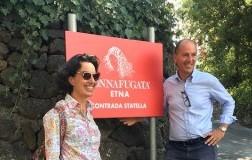 Jose e Antonio Rallo Donnafugata Etna
