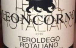 Endrizzi Teroldego Rotaliano Superiore Leoncorno Riserva 2015