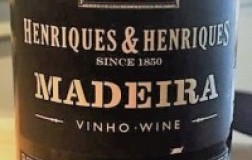 Madeira Sercial 10 years old Henriques & Henriques