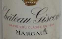 Margaux Troisieme Grand Cru Classe 1996 Chateau Giscours