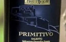 Masseria Cicella Primitivo del Salento vino rosso Puglia
