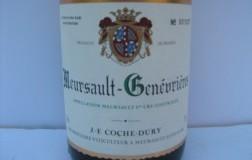Meursault Genevrieres 1er Cru 2002 Coche Dury