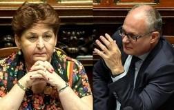 Teresa Bellanova ministra agricoltura e Roberto Gualtieri ministro economia e finanze