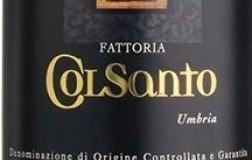 Fattoria Colsanto Montefalco Sagrantino 2015