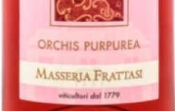 Orchis Purpurea agianico del taburno rosato masseria frattasi vino campania