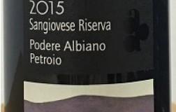 Podere Albiano Orcia Sangiovese Tribolo Riserva 2015